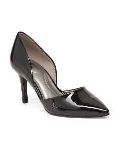 Patent Two Piece Pointy Toe Pumps