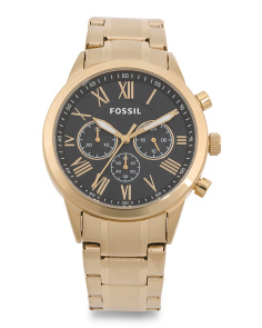 Men's Flynn Chrono Gold Tone Stainless Steel Watch