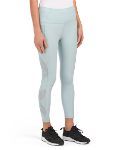 High Waist Leggings With Power Mesh