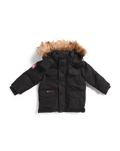 Little Boys Parka Jacket