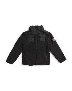 Big Boys Sherpa Fleece Jacket