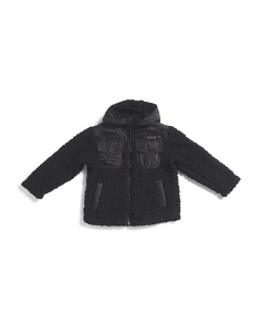 Little Boys Sherpa Fleece Jacket