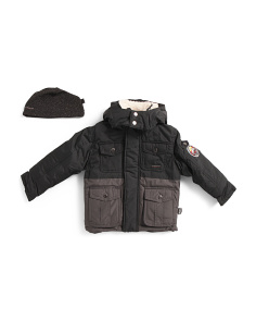 Little Boys Heavyweight Parka Jacket