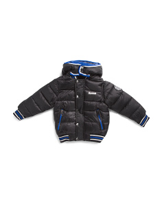 Little Boys Hooded Down Bubble Jacket