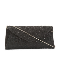 Envelope Flap Gem Clutch