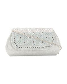 Flap Front Pattern Clutch