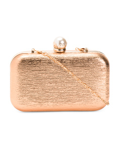 Top Clasp Evening Clutch