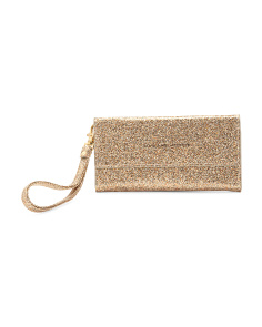 Phone Wallet Wristlet With Mirror