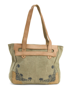 Upcycled Blooming Fields Sholder Bag
