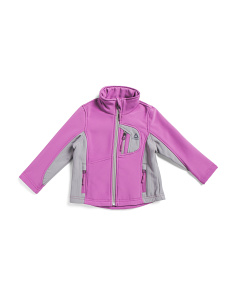 Toddler Girls Super Soft Softshell Jacket