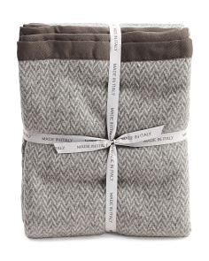 Made In Italy Luxury Lambs Wool Blanket