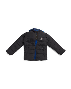 Little Boys Hooded Jacket