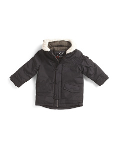Little Boys Quilt Lining Expedition Jacket