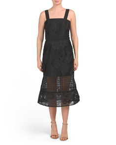 Virtuous Lace Midi Dress