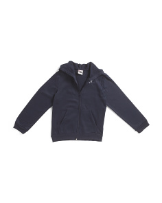 Big Boys Classic Fleece Zip Up Hoodie
