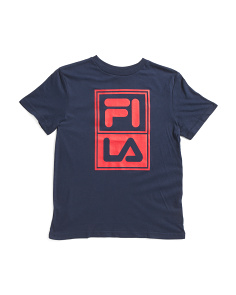 Big Boys Retro Graphic Logo Tee