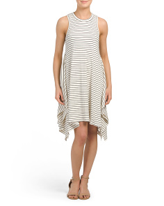 Made In Usa Variegated Rib Dress