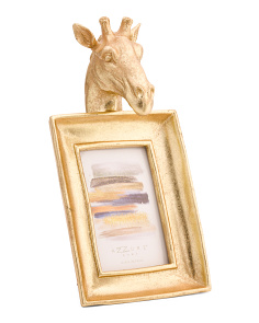 4x6 Giraffe Head Photo Frame