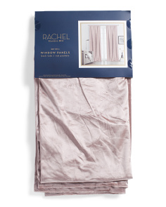 38x96 Set Of 2 Luxe Velvet Curtains