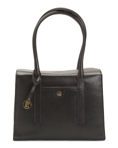 Leather Business Chic Paula Briefcase