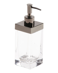 Lotion Pump With Metal Top