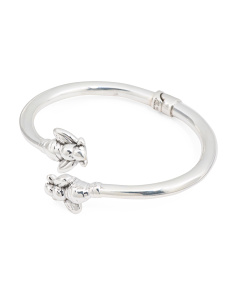 Made In Thailand Sterling Silver Bee Bangle Bracelet