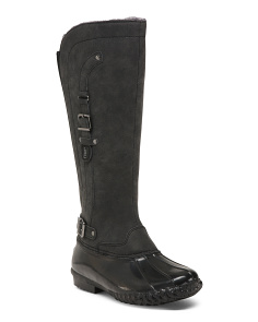 Waterproof Knee High Boots