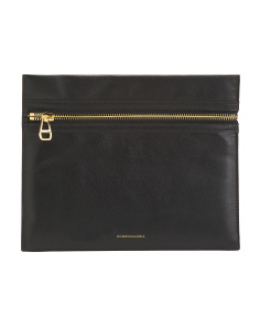 Leather Penelope Wristlet