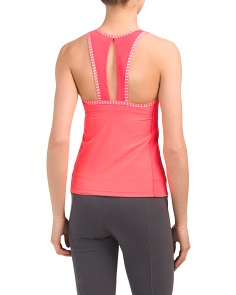 Built-in Bra Tournament Racerback Tank