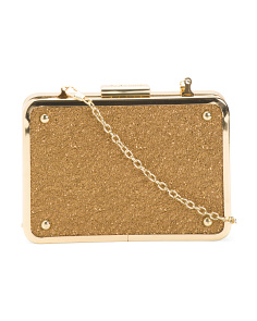 Elissa Mini Box Clutch