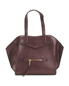 Aubry Whipstitch Tote