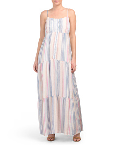 Arco Striped Maxi Dress