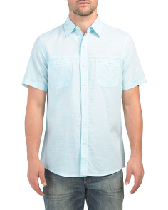 Short Sleeve Dockside Chambray Shirt