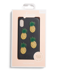 Pineapple Leather Phone Case For Iphone X