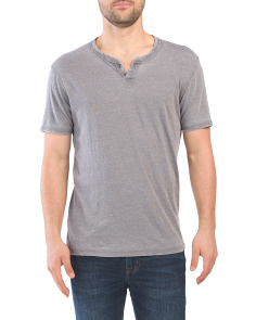Venice Burnout Notch Tee