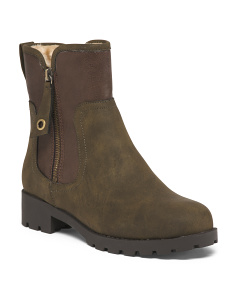 Fleece Lined Mid Shaft Boots