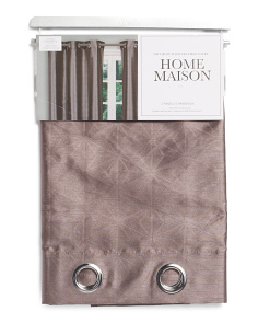 38x84 Set Of 2 Embossed Curtains
