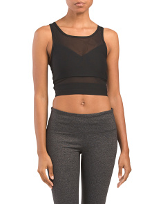 Bra Top With Power Mesh