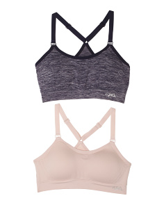 2pk Seamless Sports Bra