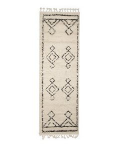 Made In Turkey 2x8 Moroccan Diamond Runner
