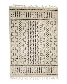 Made In Turkey 5x7 Moroccan Demarche Rug