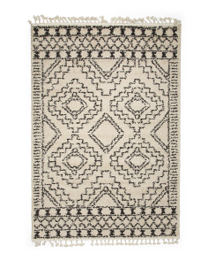 Made In Turkey 5x7 Soft Moroccan Area Rug