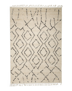 Made In Turkey 5x7 Moroccan Diamond Rug