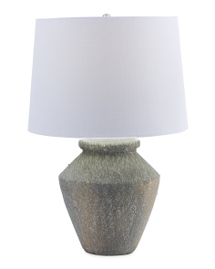 Textured Pot Lamp