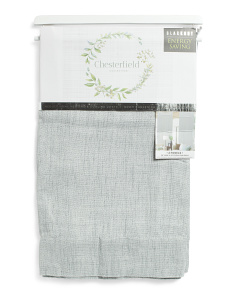 38x95 Set Of 2 Linen Look Blackout Curtains