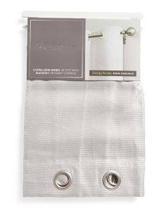 38x95 Set Of 2 Textured Blackout Curtains