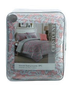 Crescent Printed Comforter Set