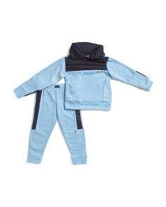Little Boys 2pc Hooded Fleece Jogger Set