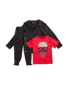 Little Boys 3pc Fleece Track Suit