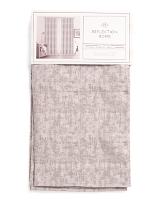 38x84 Set Of 2 Metallic Willa Curtains